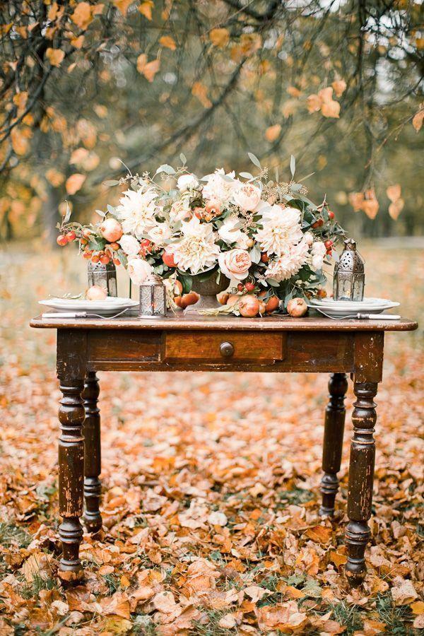 Свадьба - Fall Wedding Inspiration
