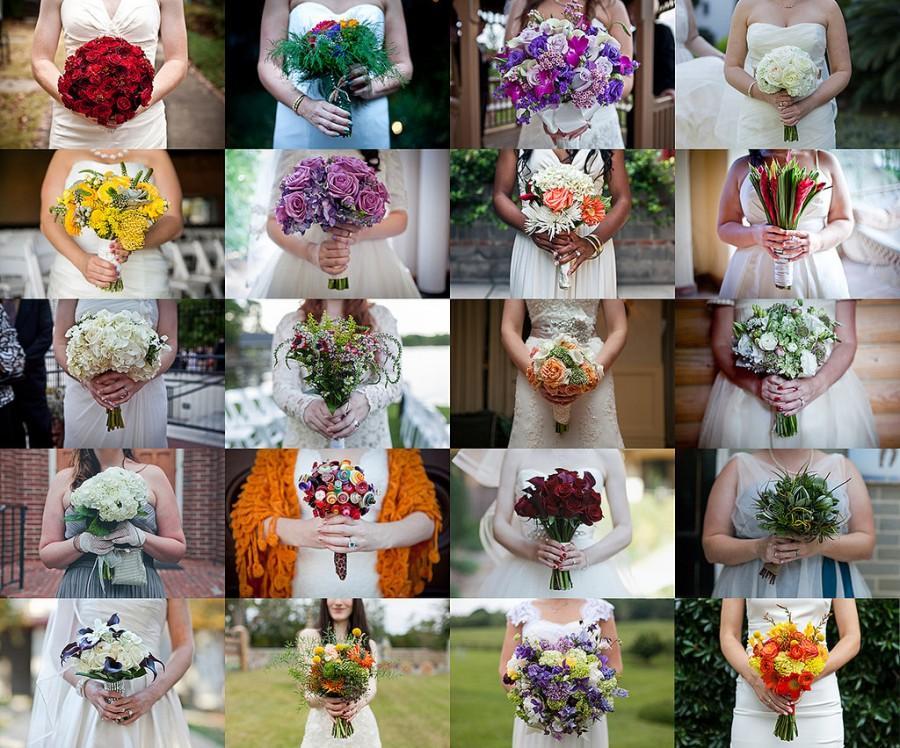 Свадьба - Bouquet Mosiac