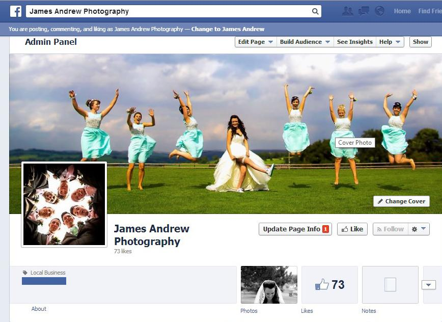 Wedding - Facebook!