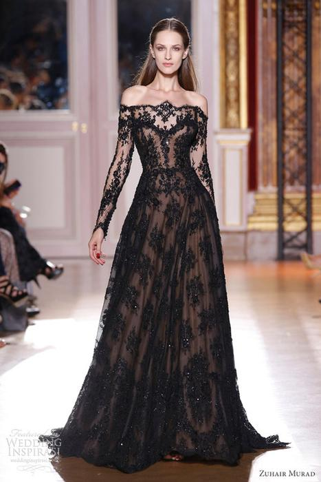 Wedding - Black Gown