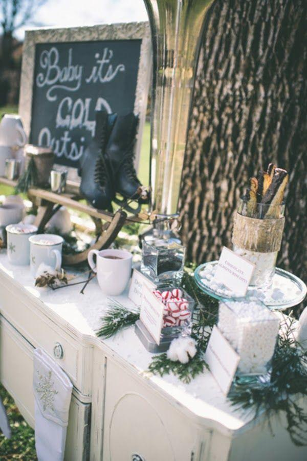 Mariage - Winter Wedding Inspiration