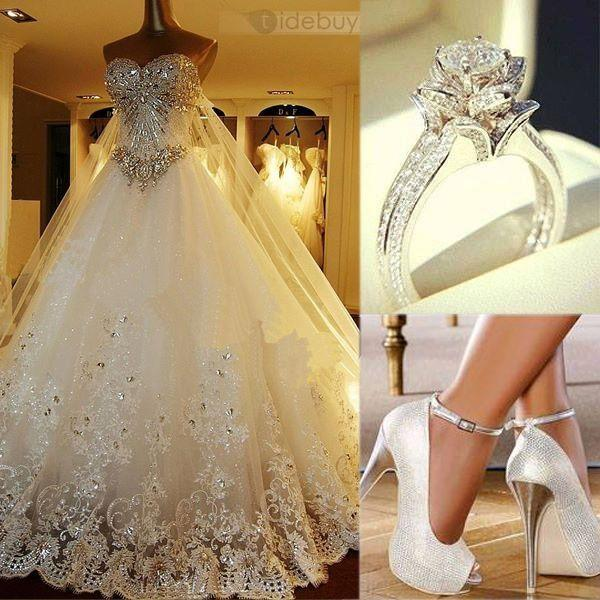 Wedding Dresses - Fairytale Wedding Dresses #2009284 - Weddbook