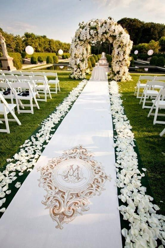 Hochzeit - Wedding Decor Ceremony