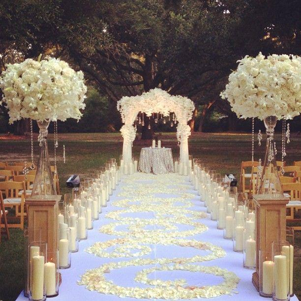 Ceremony wedding decor ceremony 2011915 weddbook Home wedding design ideas