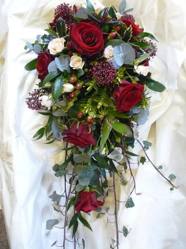 Christmas Wedding Bridal Bouquets