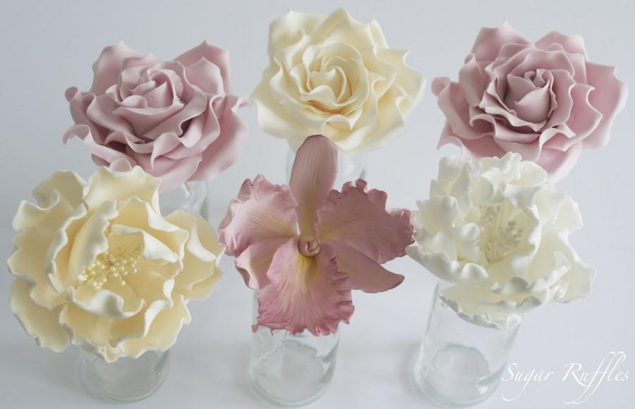 Свадьба - Sugar Flowers