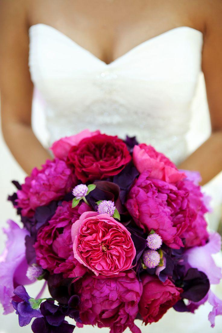 The Prettiest Peony wedding bouquets pictures
