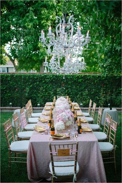 Wedding - Bridal Showers In Pink And Gold