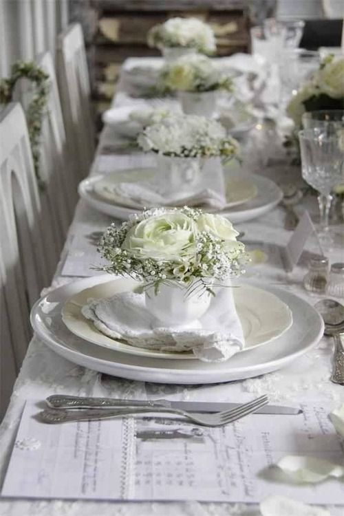 Hochzeit - TableScapes...Table Settings