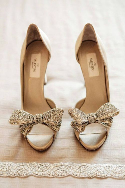 Wedding - Sophisticated light brown wedding shoes