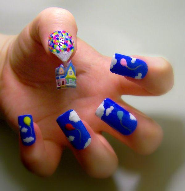 15 Extraordinary Movie Television Inspired 3d Nail Art Designs