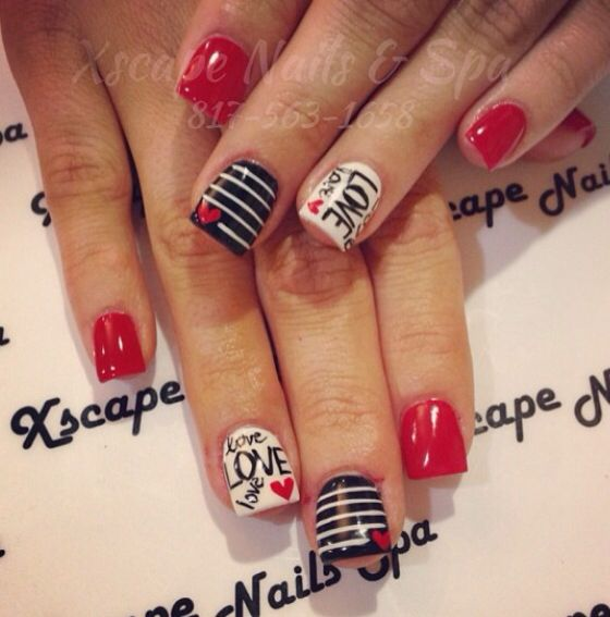 beauty nails - Valentines Nail