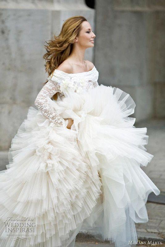 Hochzeit - Ballerina Bridal Gown
