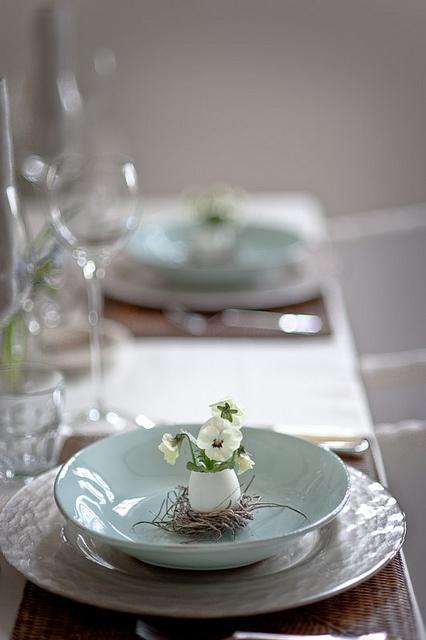 Свадьба - Easter Table Setting