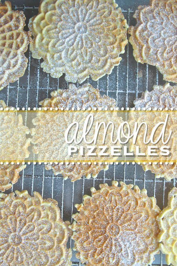 Wedding - Almond Pizzelles