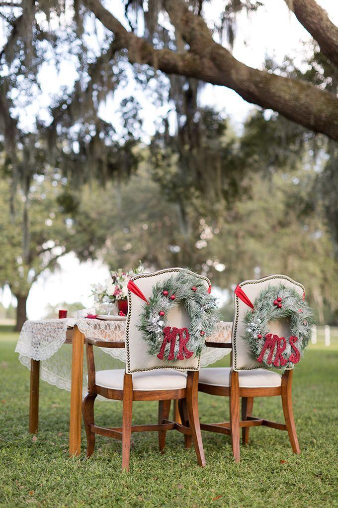 زفاف - Farm Christmas Wedding Inspiration