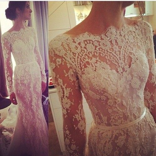 Wedding Gowns Long Sleeve Lace 51