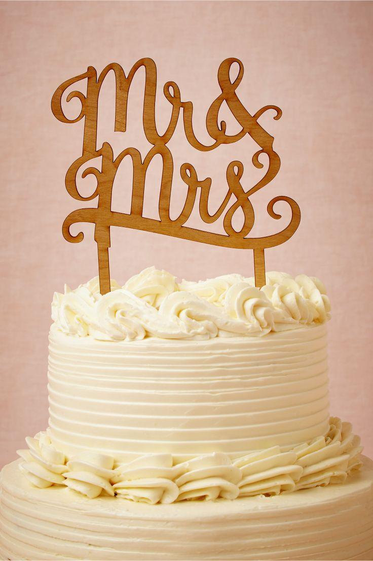 زفاف - Mr. & Mrs. Cake Topper