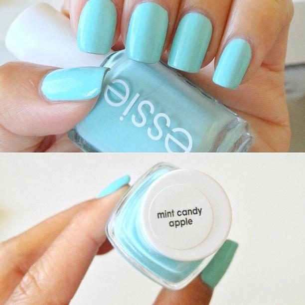 Свадьба - Essie® Nail Color - Mint Candy Apple