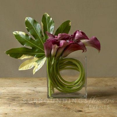 Decor - Calla Lily Centerpiece #2028661 - Weddbook