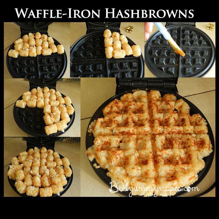 Mariage - Waffle-Iron Hashbrowns