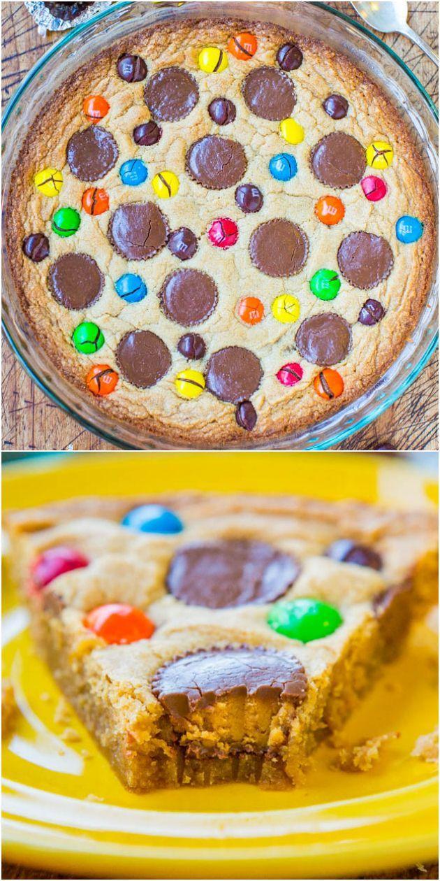 زفاف - Triple Peanut Butter Cookie Pie