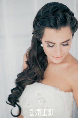 Свадьба - Big Loose Cascading Braid - Lovely