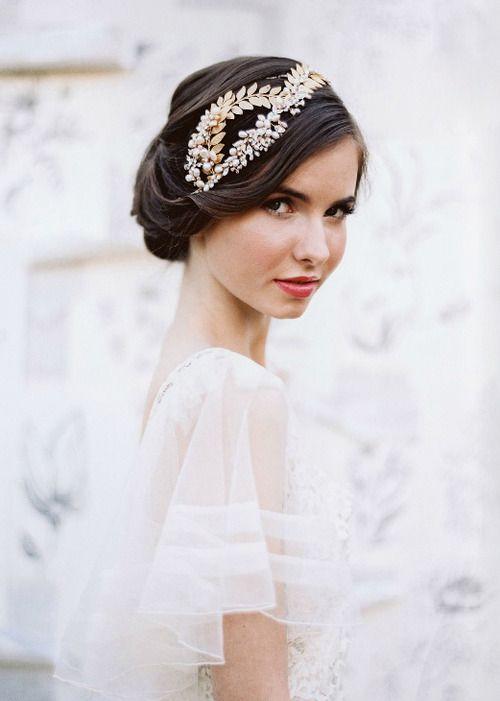 Düğün - Hairband - Jose Villa
