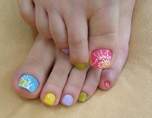 Summer wedding summer toe nail toenail art 2029028 weddbook summer toe nail toenail art prinsesfo Image collections