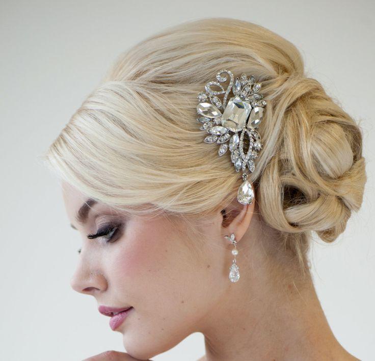 Свадьба - Crystal Hair Ornament