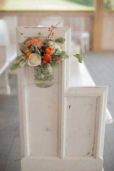 زفاف - Orange & Cornflower Blue Tennessee Wedding