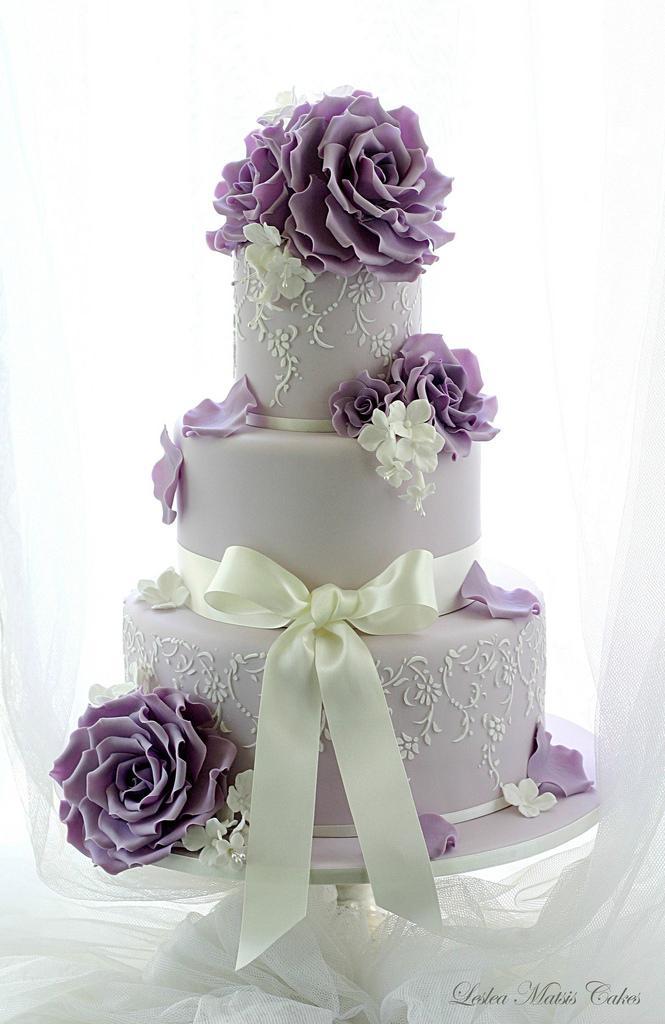 Purple Wedding Purple And Lavender 2029133 Weddbook