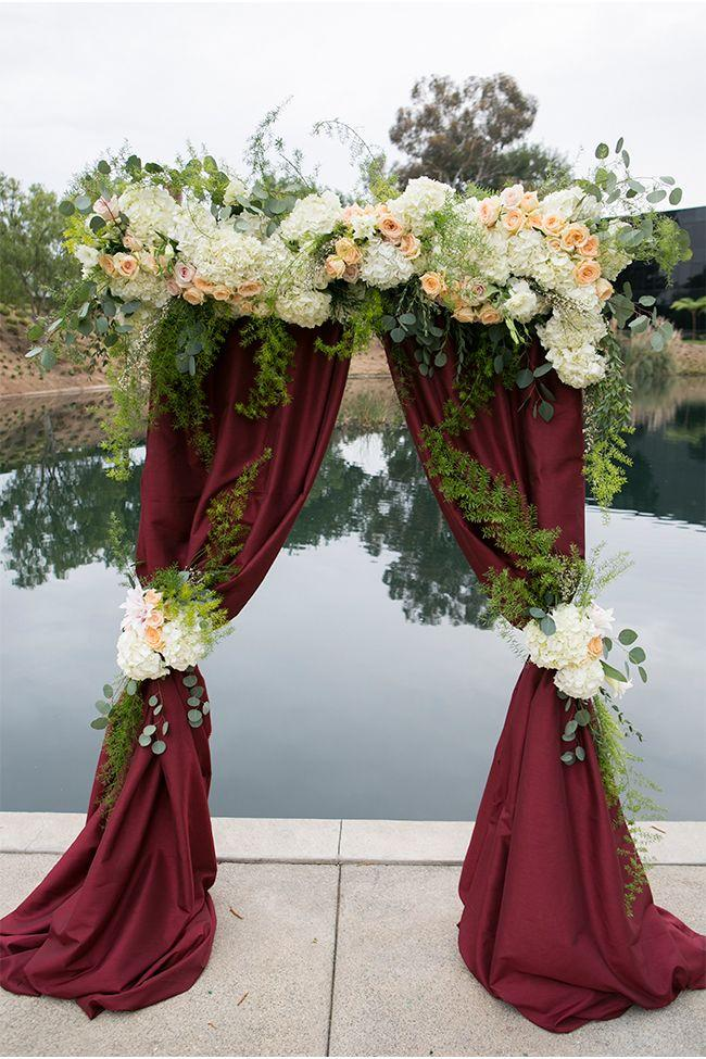 Unique altar decorations for wedding ceremony image wedding flower wedding altar decor choice image wedding decoration ideas junglespirit Choice Image