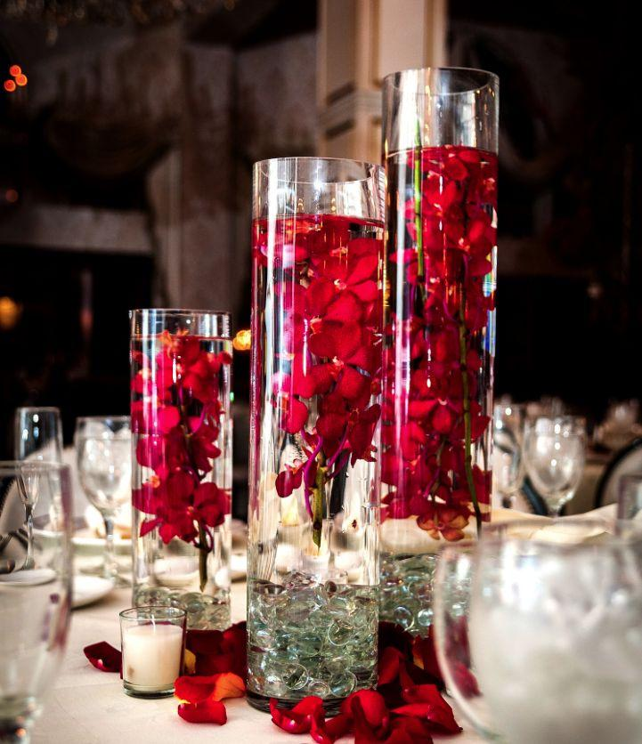Centerpieces wedding centerpieces ideas 2029142 weddbook for Idee deco vase