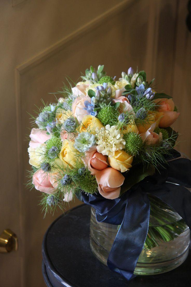 Свадьба - Rose,scabiosa,nigella And Oxypetalum