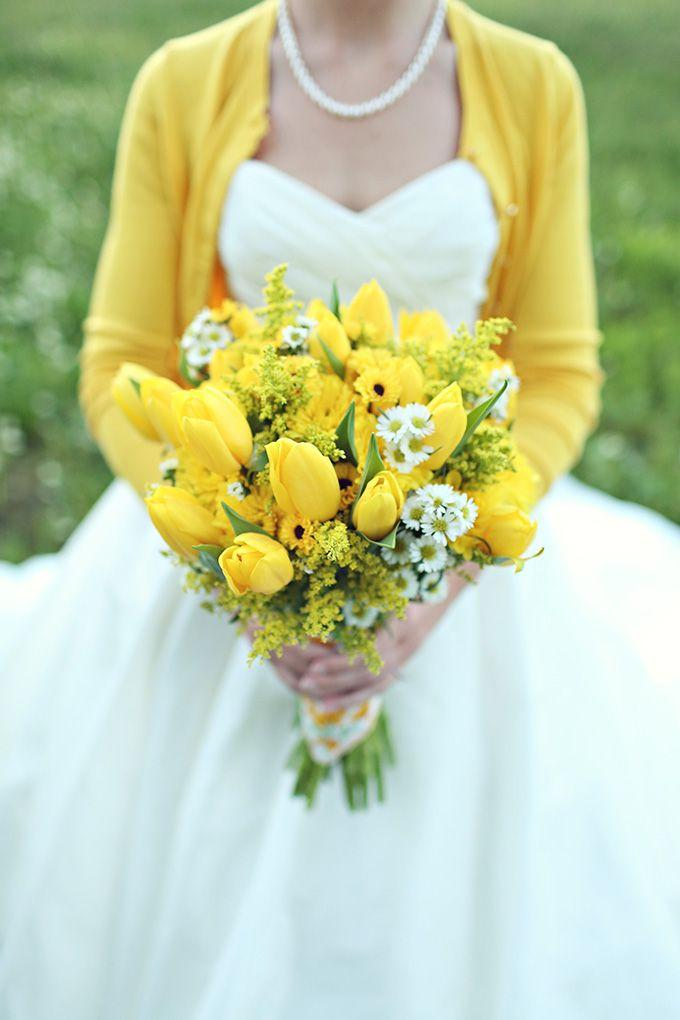 Wedding - Yellow Collection: Yellow Bouquet