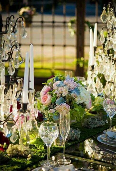 Wedding - Elegant Alfresco Tablescape!