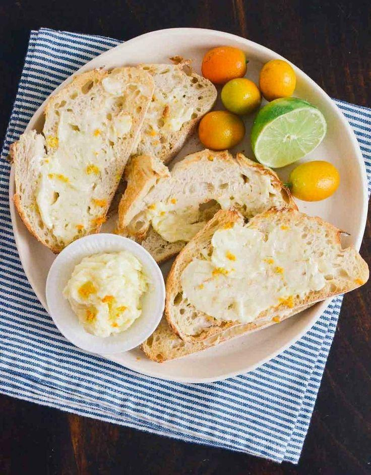 Inspired Toast With Sweet Citrus Butter #2029506 - Weddbook