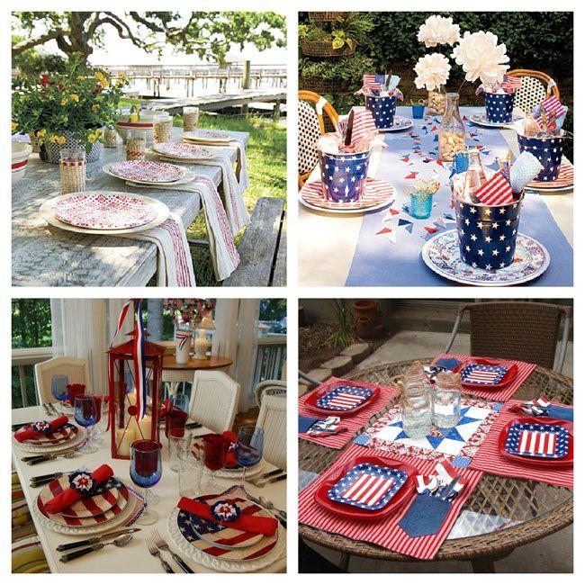 Tablescapes - 4th Of July Table Setting Ideas #2029507 - Weddbook
