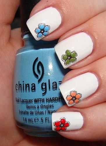 Summer Wedding Cool Nail Art 2029560 Wedd