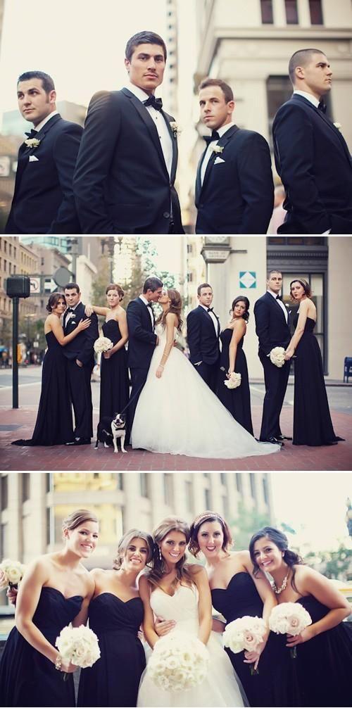Mariage - Black And White Wedding Photography Idea
