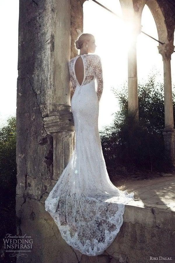 Mariage - Mermaid style wedding dress by Riki Dalal