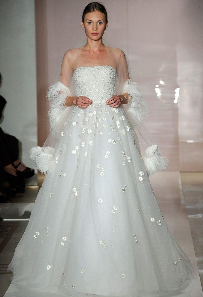 Reem Acra Fall 2014 Wedding Dresses wedding photo Reem Acra Fall