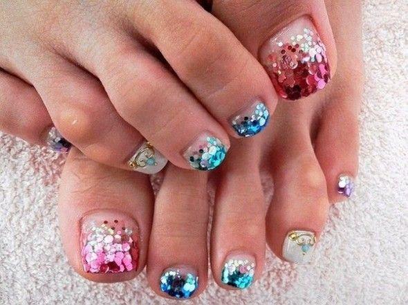 Wedding Nail Designs - Toe Nail Art #2029856 - Weddbook