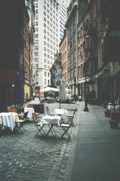 Wedding - Outside Cafe