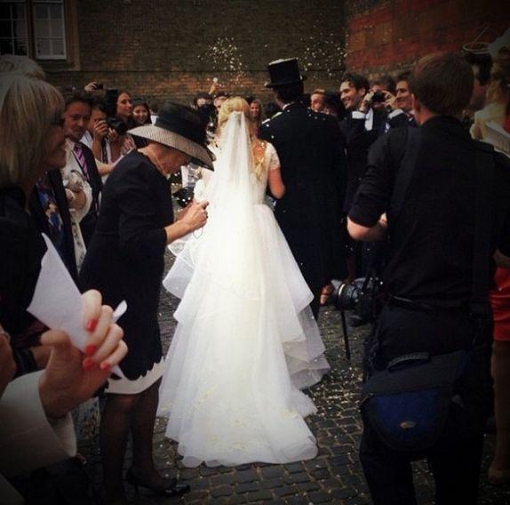 Свадьба - Fleurdeforce свадебное платье