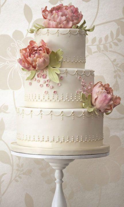 Wedding Cakes See More About Wedding Cakes Rose Cake And Ivory Wedding