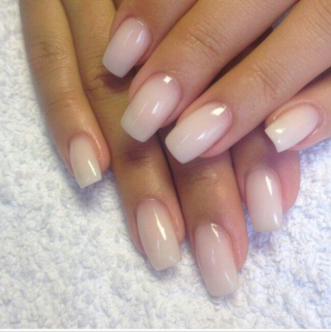 Hochzeit - Nude / Clear Nails