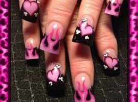 Wedding Nail Designs Valentines Nail Art 2030100 Weddbook