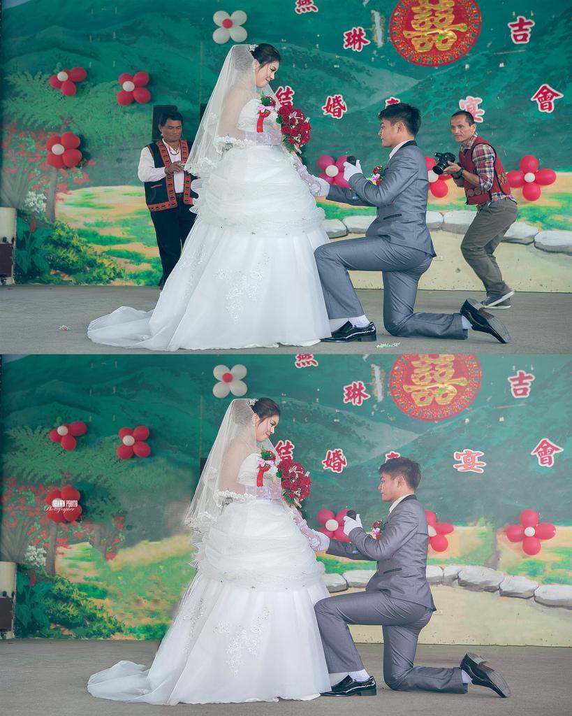 Hochzeit - Vor und nach